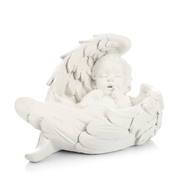 Angel Baby with Wings, 14 cm Heimdekoration
