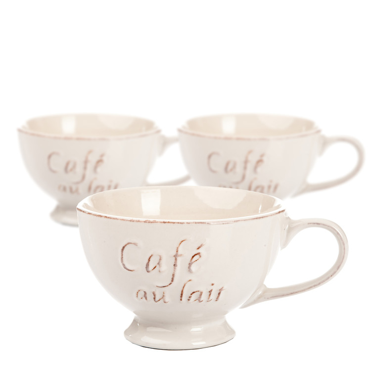 Bowl Café 600 ml, set of 3 pcs Heimdekoration