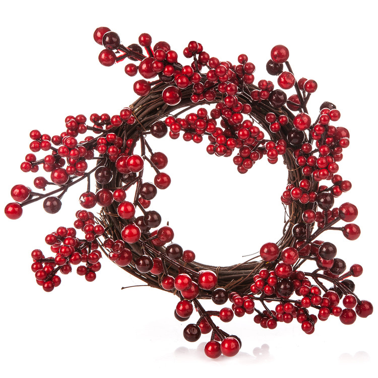 Wreath Berries, 28 cm Heimdekoration