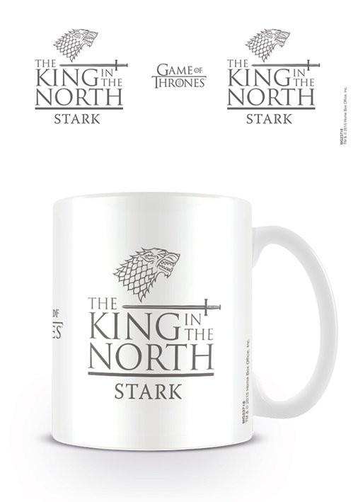 Hrnek Hra o Trůny (Game of Thrones) - King in the North