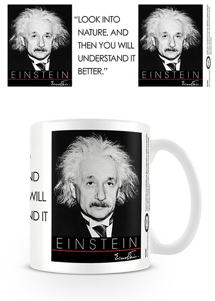 Hrnček Albert Einstein - Nature