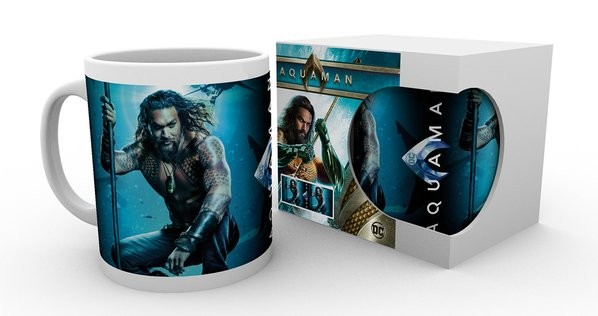 Hrnček  Aquaman - One Sheet