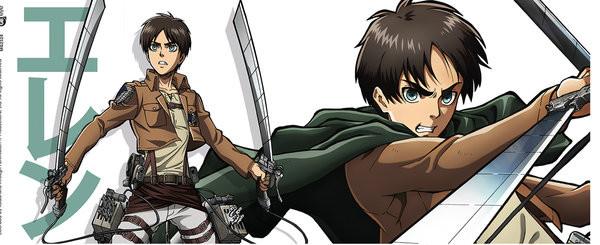 Hrnček  Attack on Titan (Shingeki no kyojin) - Eren Duo