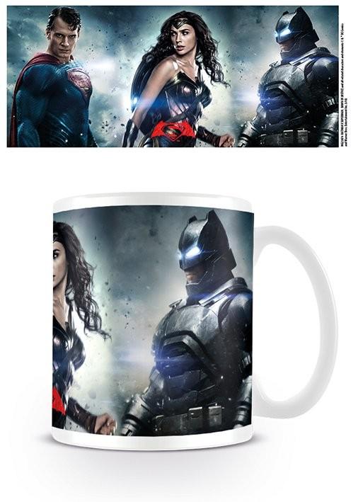 Hrnček Batman vs. Superman: Úsvit spravodlivosti - Trinity