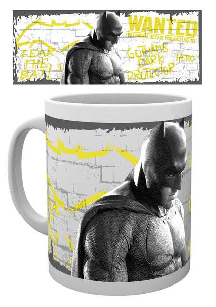 Hrnček Batman vs. Superman: Úsvit spravodlivosti - Wanted