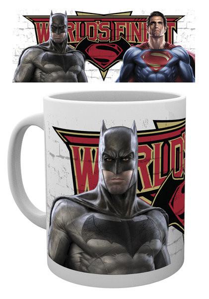 Hrnček Batman vs. Superman: Úsvit spravodlivosti - Worlds Finest