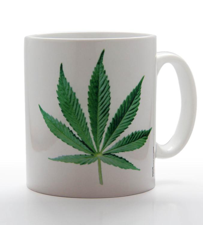 Hrnček Cannabis Leaf
