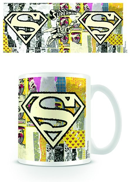 Hrnček DC Originals - Superman Logo Dist