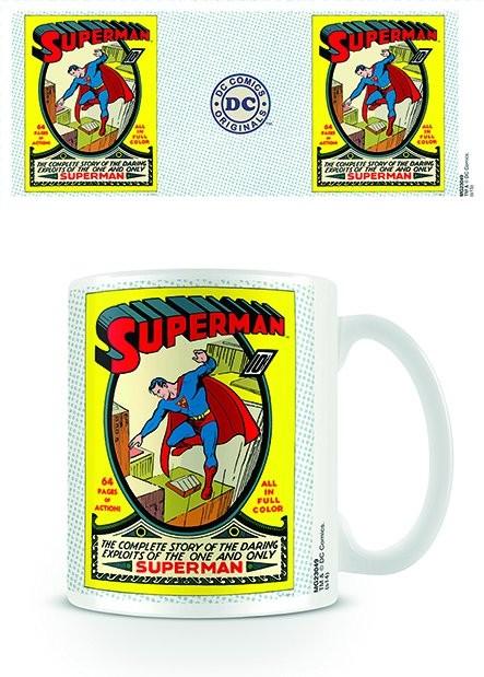 Hrnček DC Originals - Superman No.1
