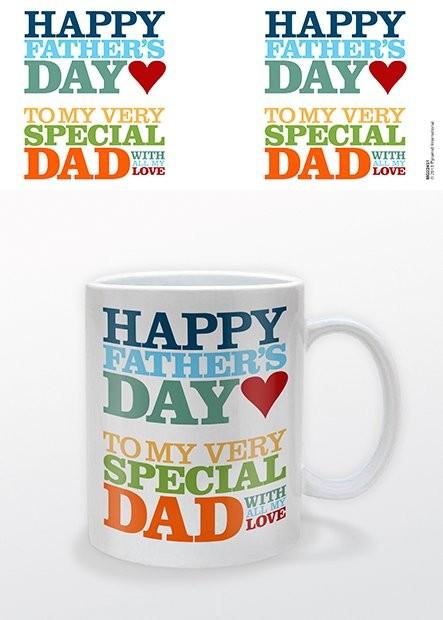 Hrnček Deň otcov - Happy