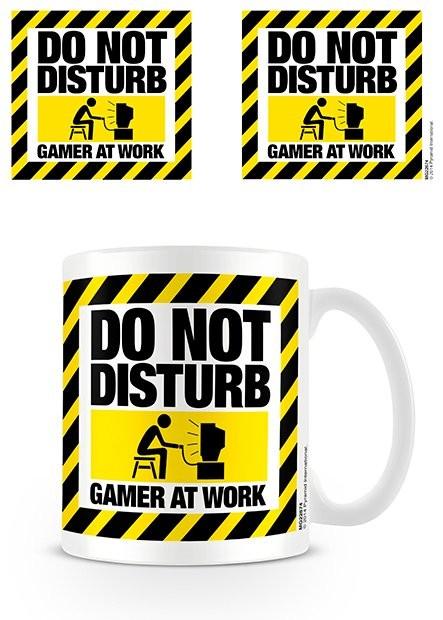 Hrnček Do Not Disturb - Gamer at Work