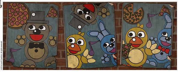 Hrnček  Five Nights At Freddy's - Vintage Posters