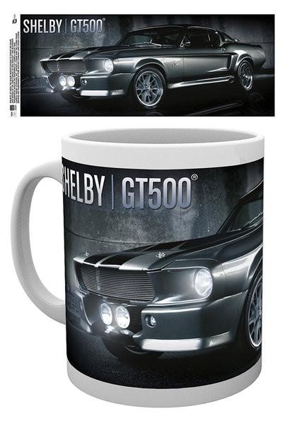 Hrnček Ford Shelby - Black GT500