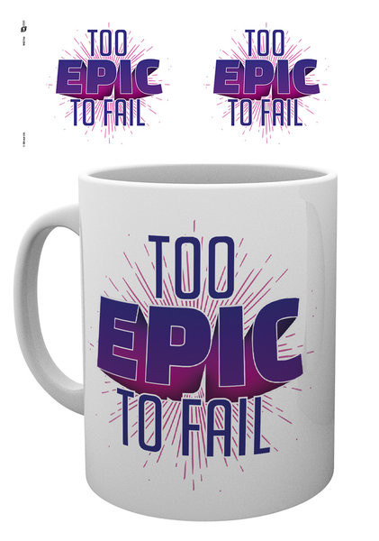 Hrnček Gaming - Too Epic To Fail