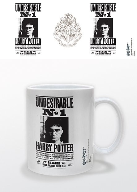 Hrnček Harry Potter – Undesirable No.1