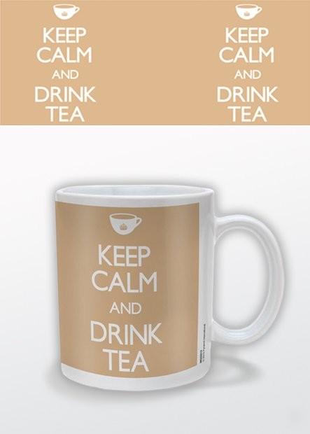Hrnček Keep Calm and Drink Tea