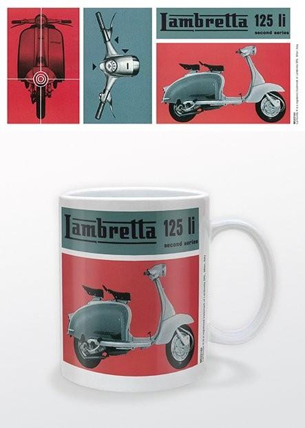 Hrnček Lambretta - 125Li