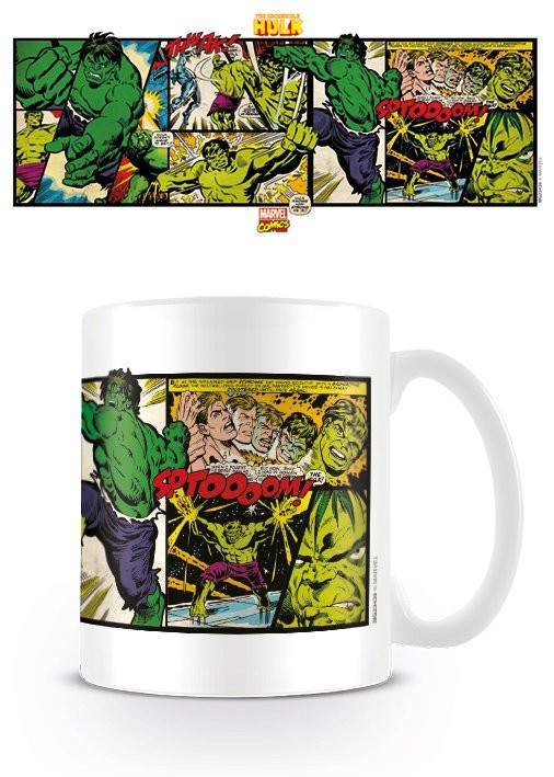 Hrnček Marvel Retro - Hulk Panels