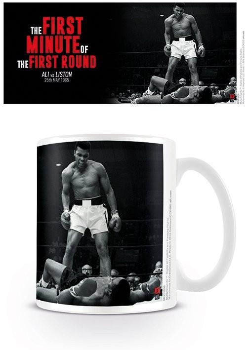 Hrnček Muhammad Ali  -Ali v Liston