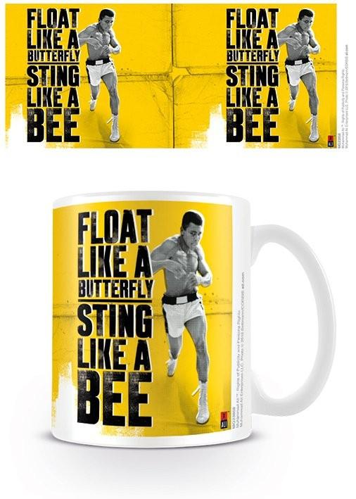 Hrnček Muhammad Ali - Float like a butterfly,sting like a bee