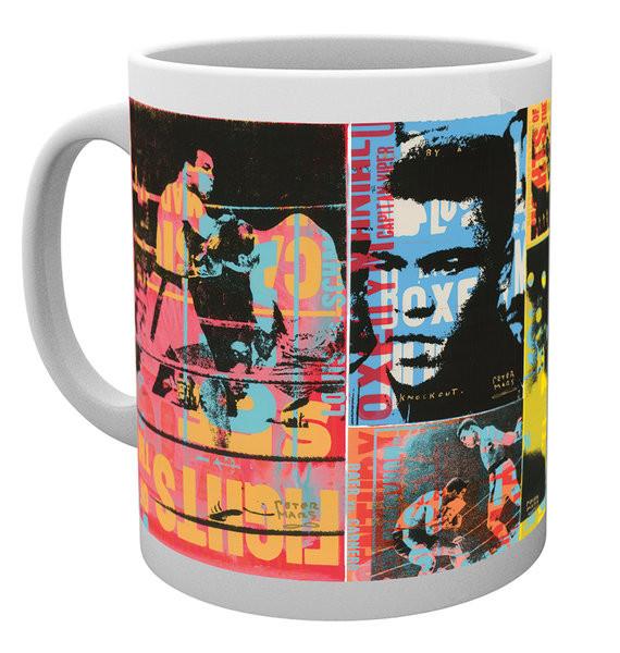 Hrnček Muhammad Ali - Stylised