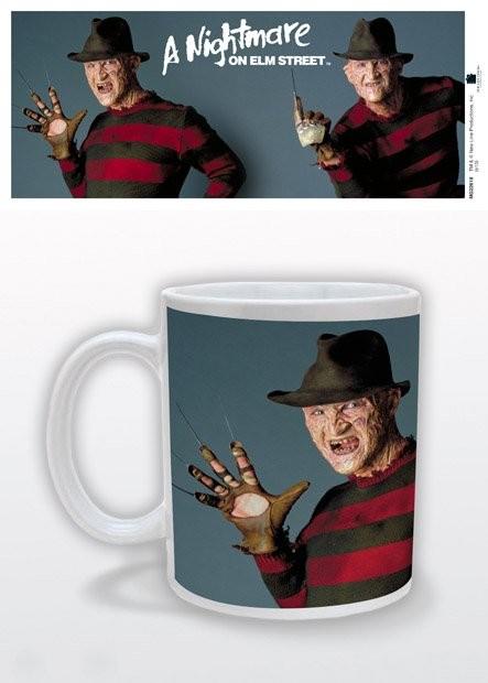 Hrnček Nočná mora z Elm Street - Freddy Poses