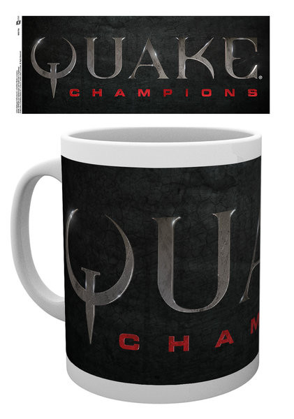 Hrnček Quake - Logo