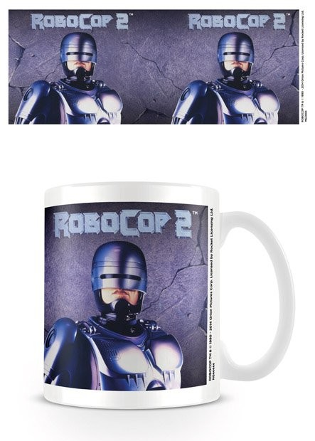 Hrnček Robocop 2 - Metal
