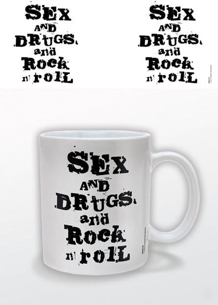Hrnček Sex and Drugs and Rock n Roll