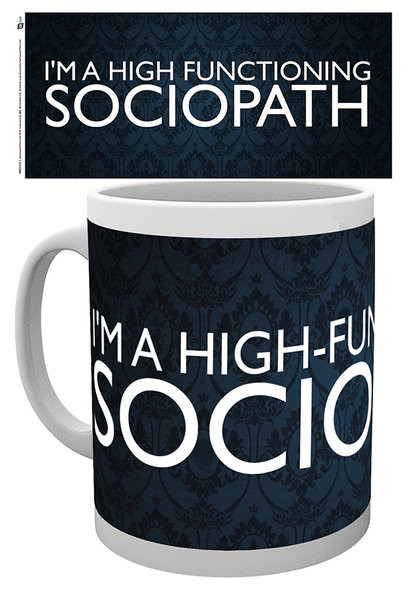 Hrnček Sherlock - Sociopath