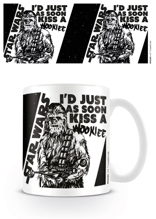 Hrnček Star Wars - Kiss a Wookie