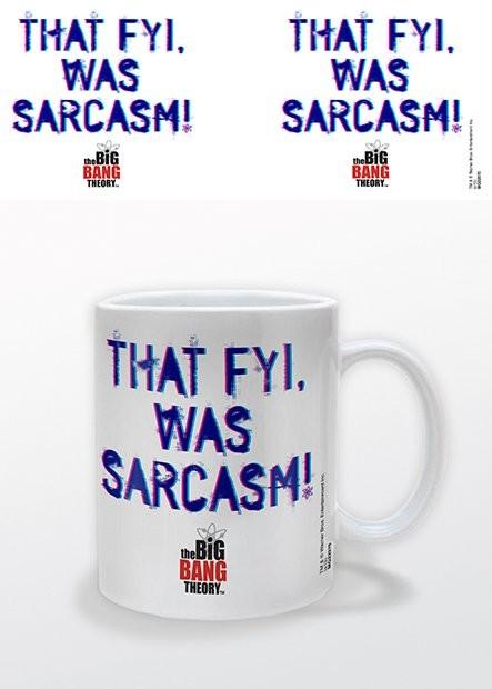 Hrnček Teória veľkého tresku (The Big Bang Theory) - That FYI, was Sarcasm