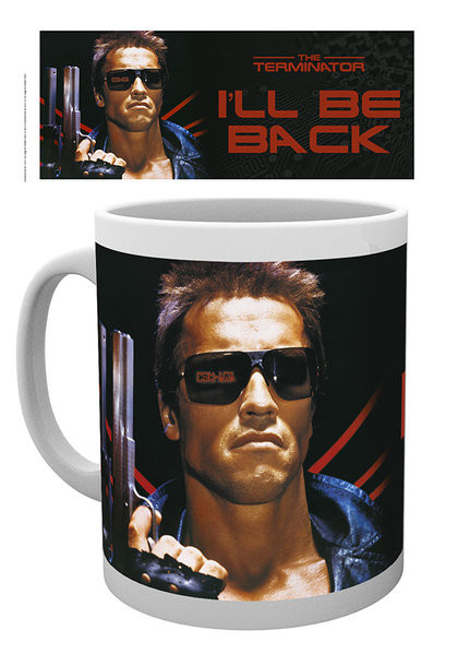 Hrnček Terminator - I ll be back with