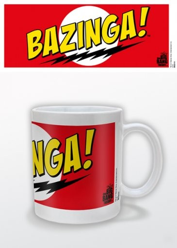 Hrnček The Big Bang Theory - Bazinga Red