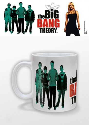 Hrnček The Big Bang Theory - Green