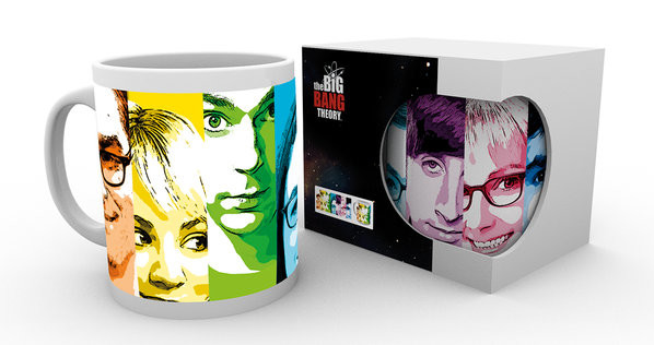Hrnček  The Big Bang Theory - Rainbow
