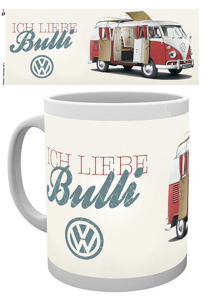 Hrnček VW Volkswagen Camper - Ich Liebe Bulli