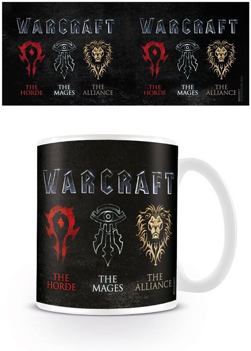 Hrnček Warcraft: Prvý stret - Logo