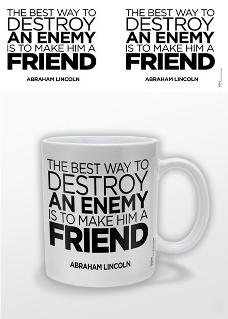 Hrnek Abraham Lincoln – A Friend