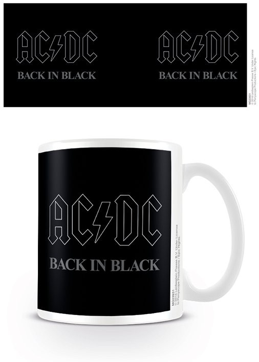 Hrnek  AC/DC - Back In Black