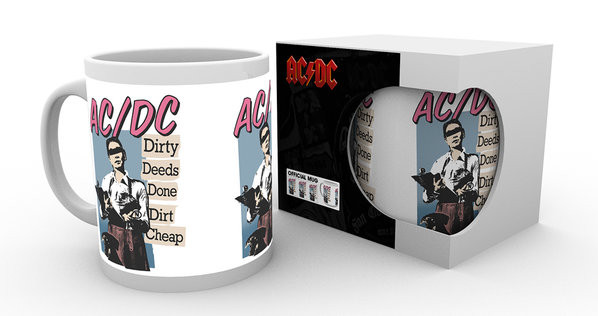 Hrnek  AC/DC - Dirty Deeds