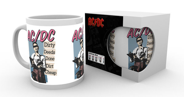 Hrnek AC/DC - Dirty Deeds
