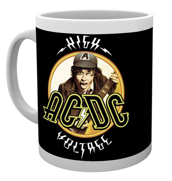 Hrnek  AC/DC - High Voltage
