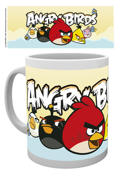 Hrnek Angry Birds - Formation