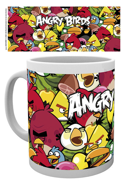Hrnek Angry Birds - Pile Up