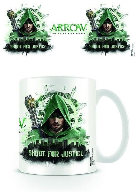 Hrnek  Arrow - Shoot for Justice