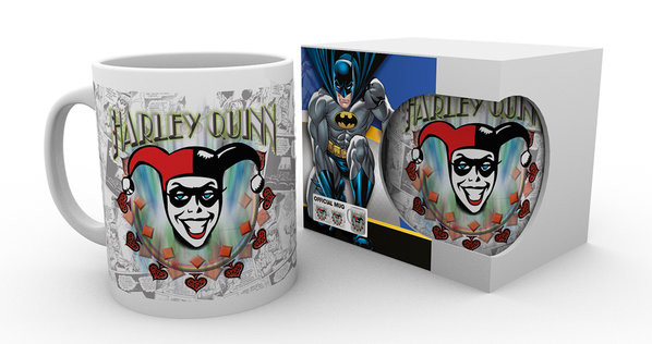 Hrnek  Batman Comics - Harley Quinn