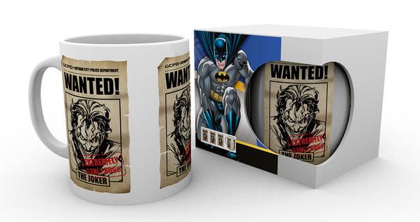 Hrnek  Batman Comics - Joker Wanted
