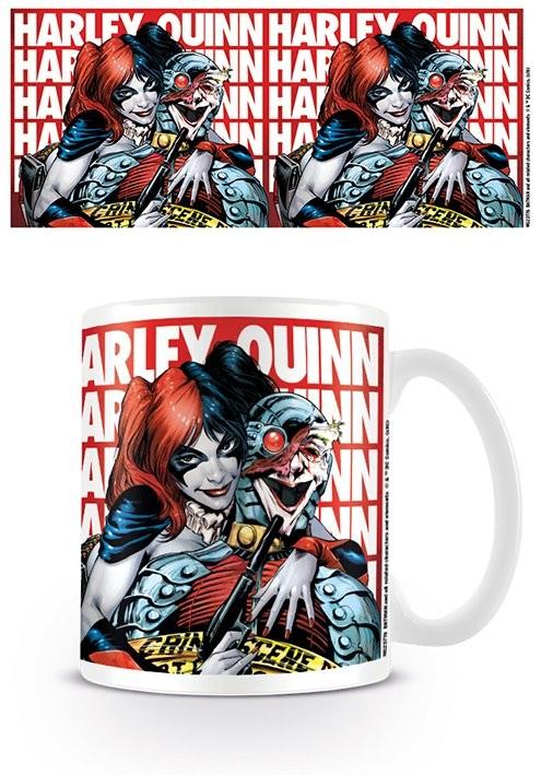 Hrnek  Batman - Harley Quinn Hostage