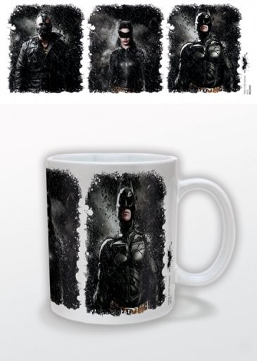 Hrnek  Batman: Temný rytíř povstal - Triptych